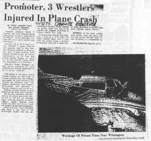 Mid Atlantic Gateway The Wilmington Plane Crash 42 Years Ago